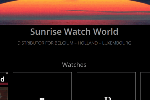 Sunrise Watch World